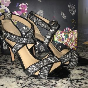antonio melani  Black and White Heels Size 8